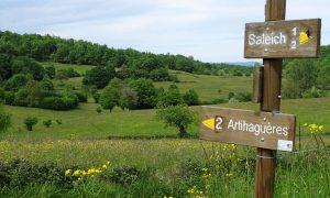 Sentier n°2 : Saleich – Urau – Artihaguères – Saleich