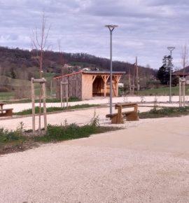Aire de services pour camping-car d'Urau