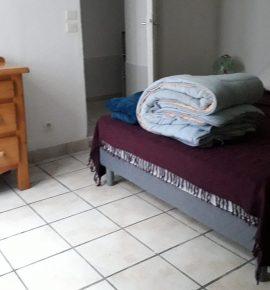 Appartement au RDC – centre du village