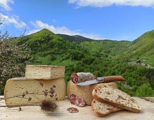 Fromage et charcuterie de la ferme de couledoux