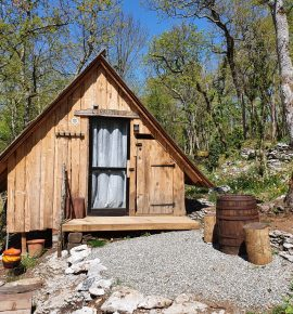Les cabanes d'Orvé – L'Urauquoise