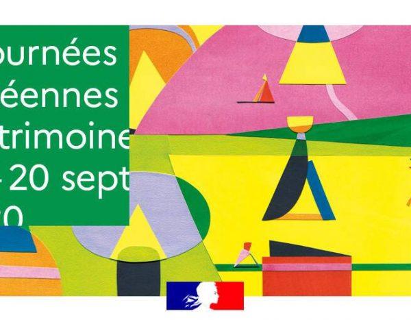 Journées Européennes du Patrimoine : demandez le programme !