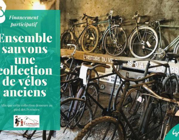 Campagne de financement participatif pour une collection de vélos anciens !