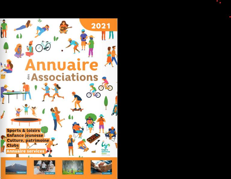 couverture annuaire des associations cagire garonne salat 2021